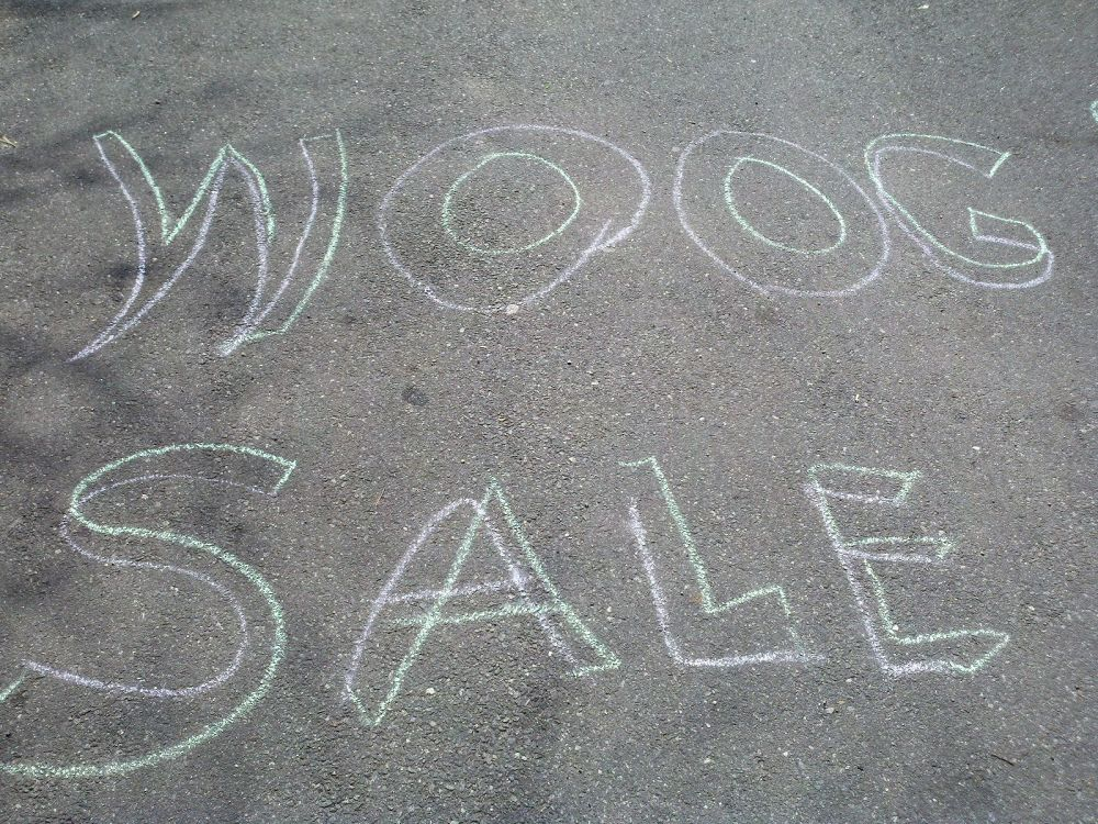 Woog Sidewalk Sale