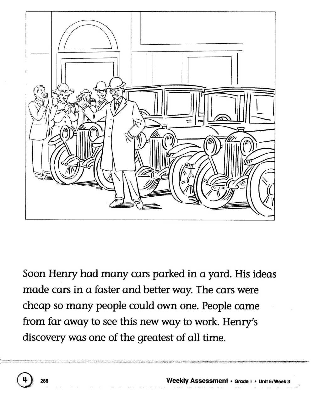 Henry Ford Passage 2