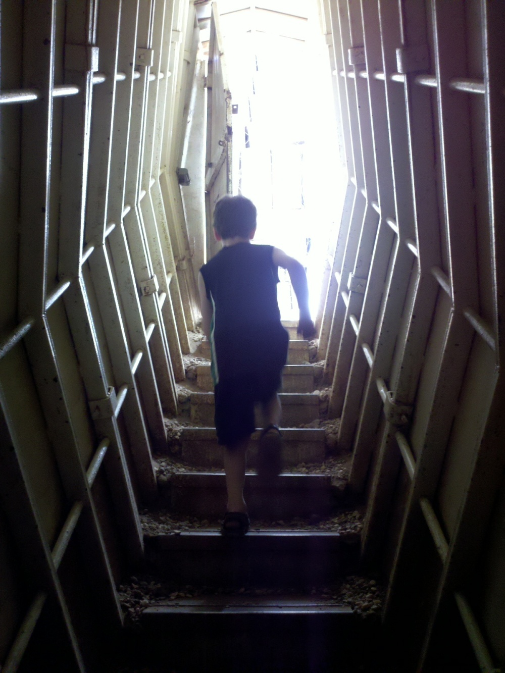Boy in Bunker